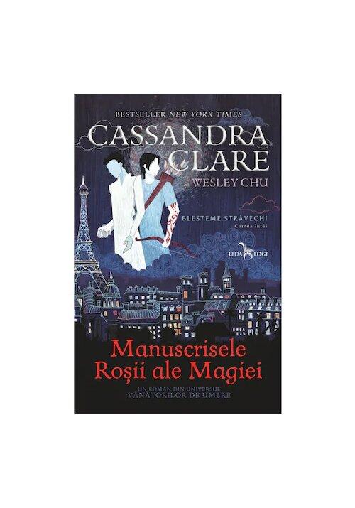 Manuscrisele Rosii Ale Magiei. Seria Blesteme Stravechi, Vol. 1 imagine librex.ro 2021