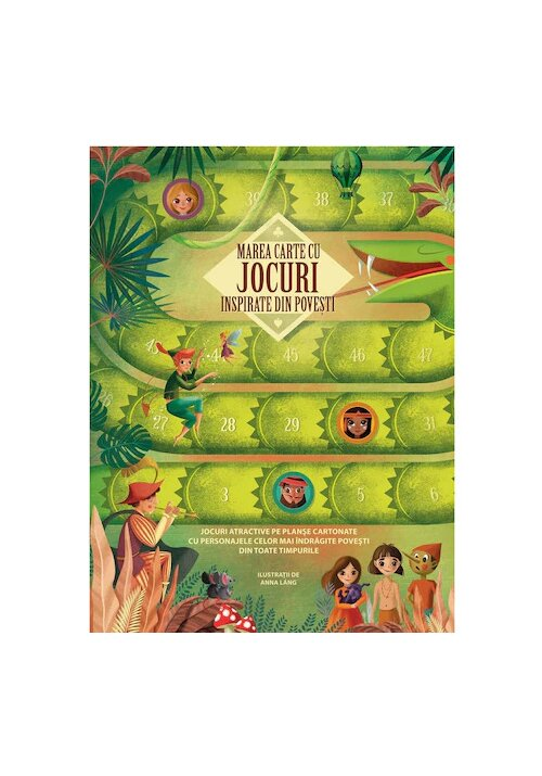 Marea carte cu jocuri inspirate din povesti