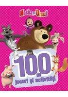 Masha si Ursul. 100 de jocuri si activitati. Vol. 1