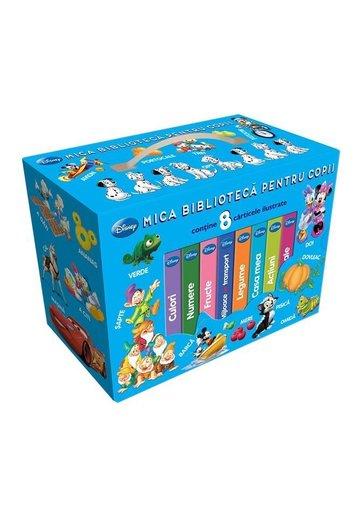 Mica biblioteca pentru copii - 8 carticele Disney
