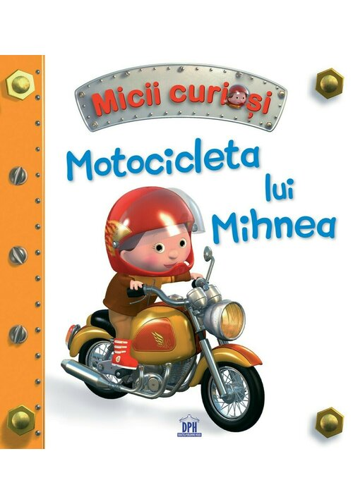 Motocicleta lui Mihnea imagine librex.ro 2021