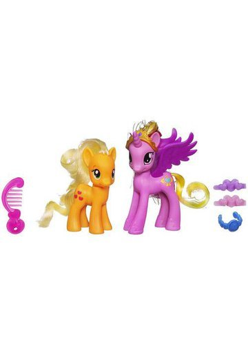 My Little Pony - Cadance si Applejack
