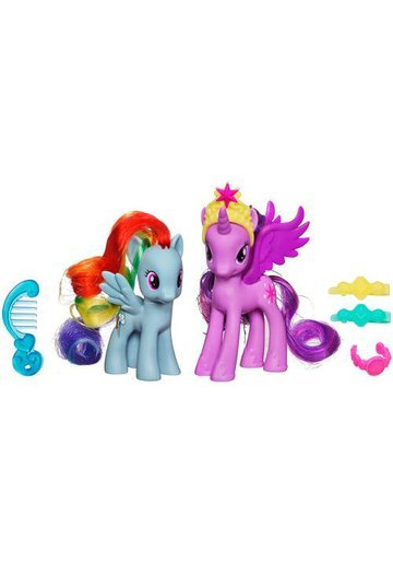 My Little Pony - Twilight Sparkle si Rainbow Dash
