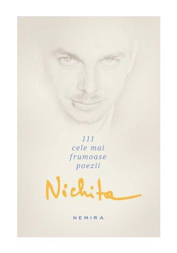 Nichita Stanescu - 111 cele mai frumoase poezii