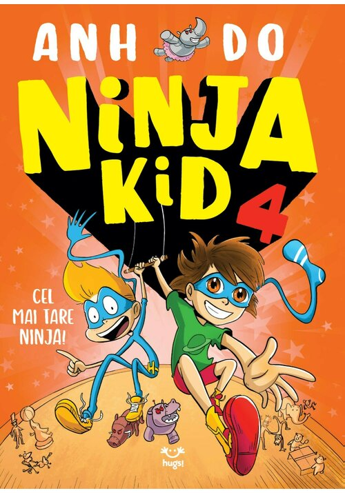 NINJA KID 4. Cel mai tare Ninja! imagine librex.ro 2021