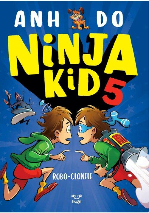 Ninja Kid 5 - Robo-clonele imagine librex.ro 2021