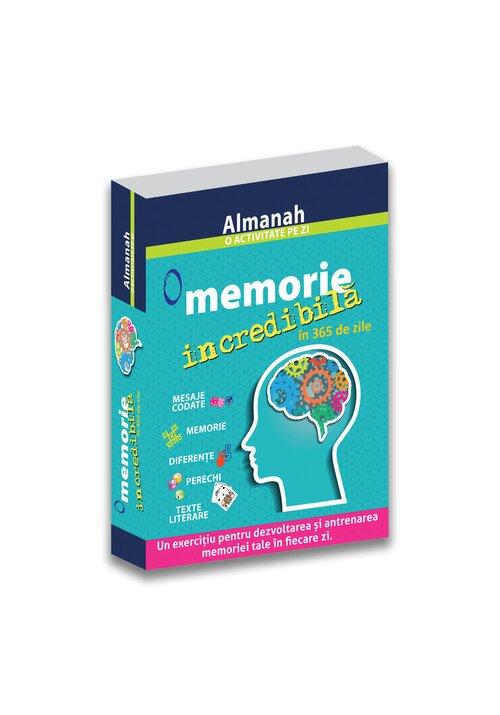 O memorie incredibila in 365 de zile - Almanah imagine