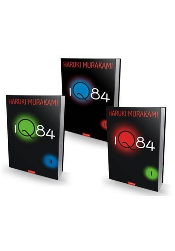 Pachet 1Q84 - Haruki Murakami - 3 Volume