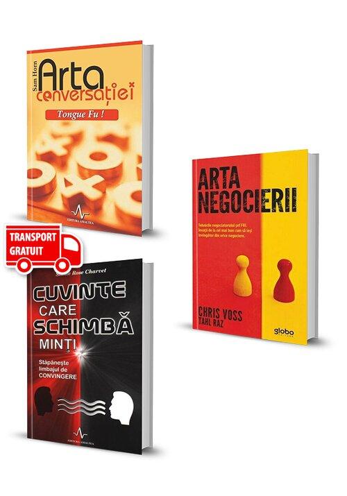 Pachet Arta negocierii . Set 3 volume