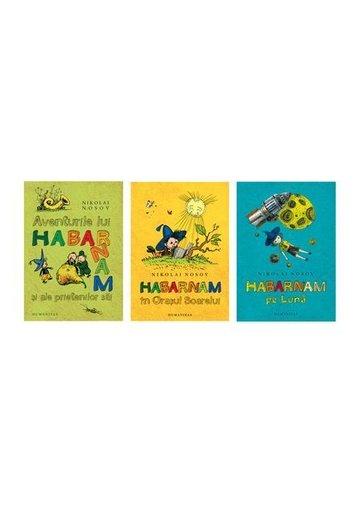 Pachet Aventurile lui Habarnam - Set 3 carti