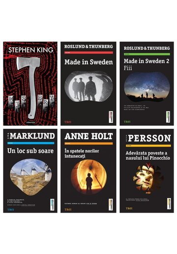 Pachet Bestseller Dark Thriller. Set 6 Volume