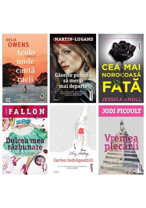 Pachet Bestseller Fiction. Set 6 volume