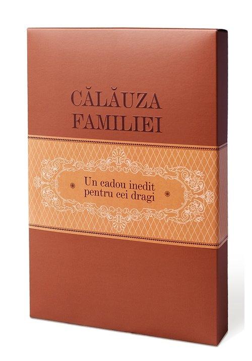 Pachet Calauza Familiei - o cronica de familie cu planse: Carte + Cutie carton + 4 Planse