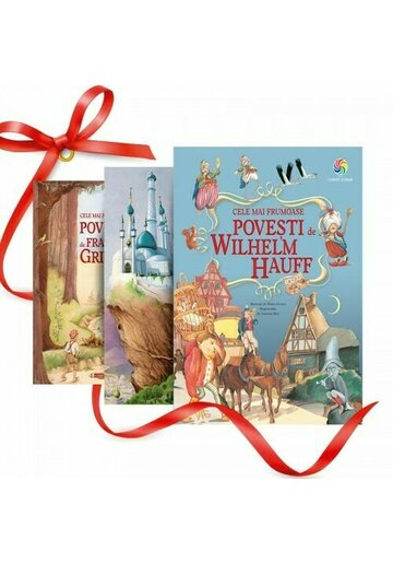 Pachet Cele mai frumoase Povesti pentru Copii. Set 3 carti