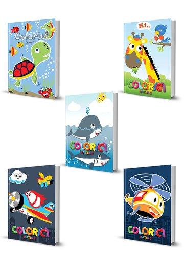 Pachet Colorici. Set 5 carti. Vol 1 - 5