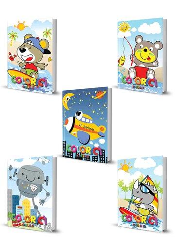 Pachet Colorici. Set 5 carti. Vol 6 - 10