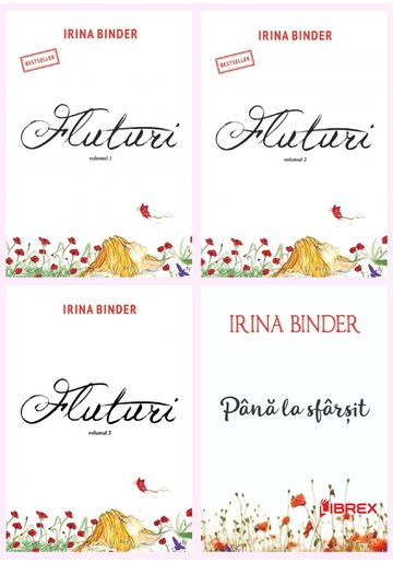 Pachet complet Fluturi Irina Binder - Set 4 Volume