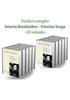 Pachet complet Istoria Romanilor de Nicolae Iorga - 10 volume - Editie de lux