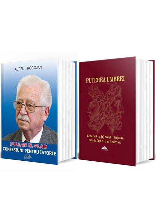 Pachet de autor Aurel Rogojan - Set 2 Carti: Puterea Umbrei + Confesiuni pentru istorie imagine librex.ro 2021