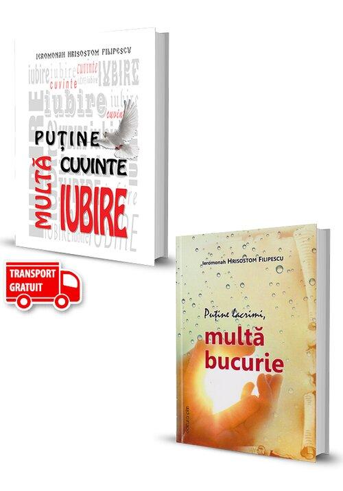 Pachet de autor Hrisostom Filipescu. Set 2 carti imagine librex.ro 2021
