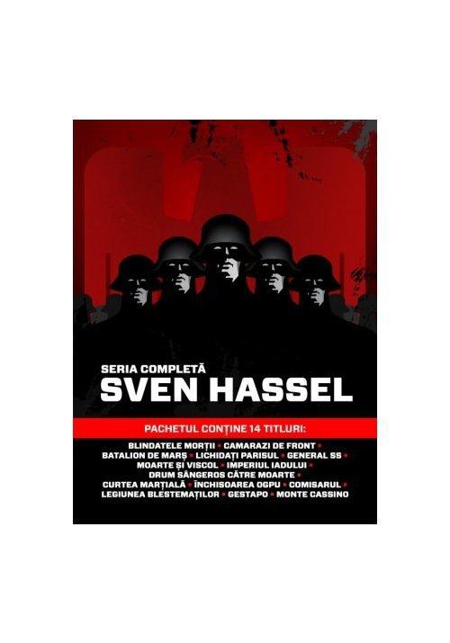 Pachet de autor Sven Hassel - 14 Volume