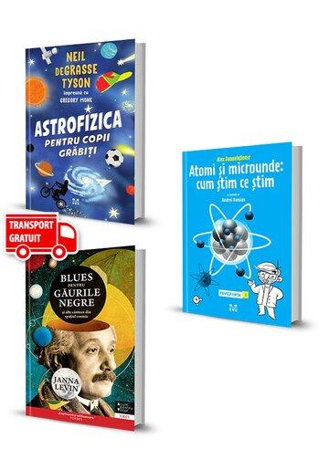 Pachet Descopera lumea. Set 3 volume