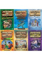 Pachet Detectivii de dinozauri. Set 6 carti