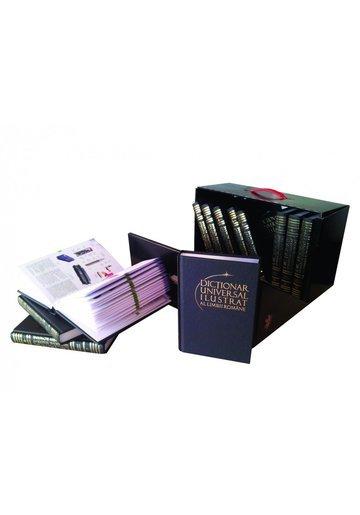 Pachet Dictionar universal Ilustrat al limbii romane (12 volume)