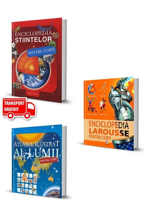 Pachet Enciclopedii pentru copii. Set 3 carti imagine librex.ro 2021