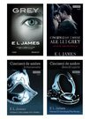 Pachet Cincizeci de umbre ale lui Grey (Fifty Shades of Grey) - 4 Volume