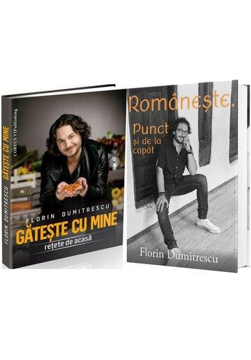 Pachet Gateste Romaneste cu Chef Florin Dumitrescu. Set 2 carti