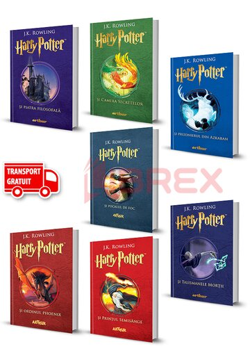 Pachet Harry Potter. Set 7 Volume