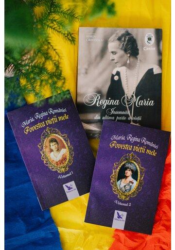 Pachet Jurnalul Reginei Maria. Set 3 carti