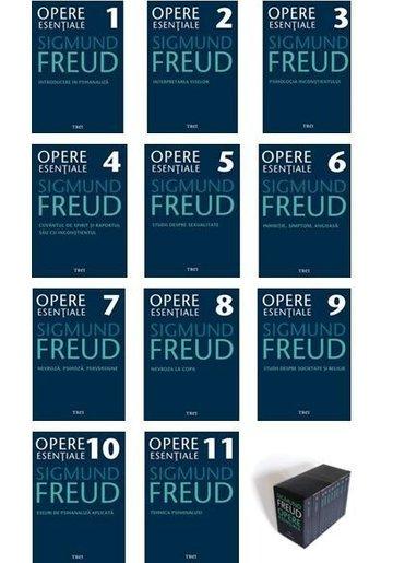 Pachet Opere Esentiale Sigmund Freud - 11 volume