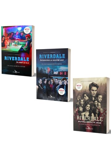 Pachet RIVERDALE. Set 3 volume