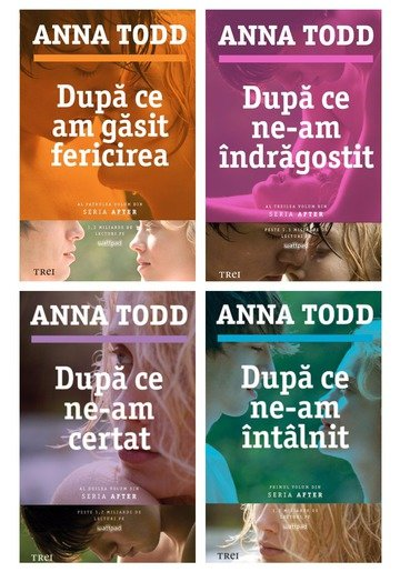 Pachet seria After de Anna Todd - 4 Volume