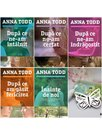 Pachet seria AFTER de Anna Todd - 5 Volume + Semn de carte Fluture