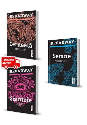 Pachet Seria Carti Scrise pe Piele. Set 3 volume