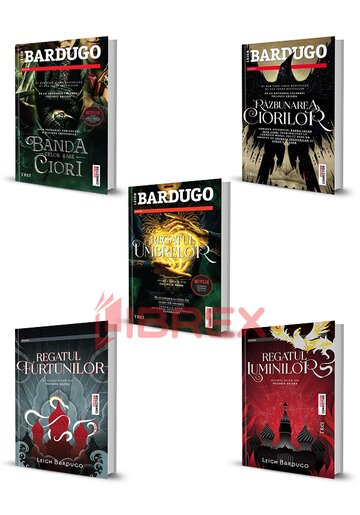 Pachet Shadow and Bone. Set 5 carti