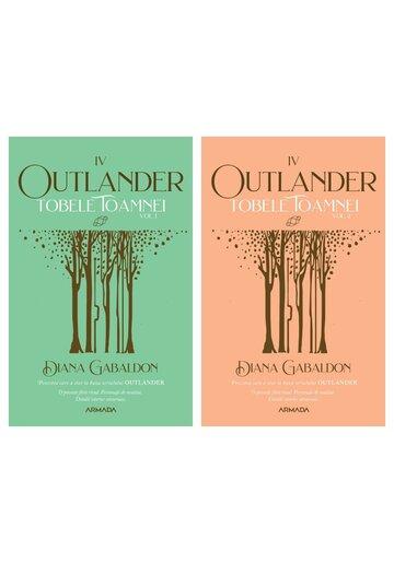 Pachet Tobele toamnei. Set 2 volume. Seria Outlander, partea a IV-a, Ed. 2021