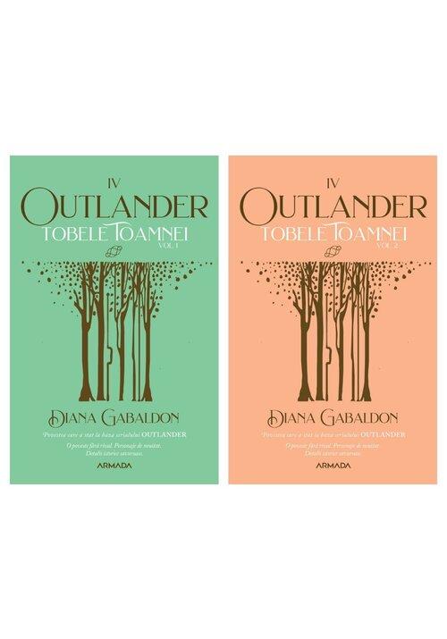Pachet Tobele toamnei. Set 2 volume. Seria Outlander, partea a IV-a, Ed. 2021 imagine librex.ro 2021