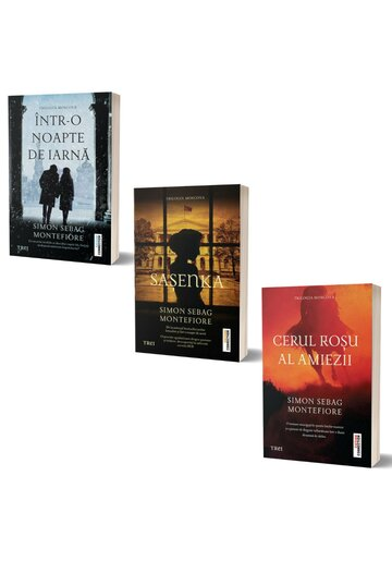 Pachet Trilogia Moscova. Set 3 volume
