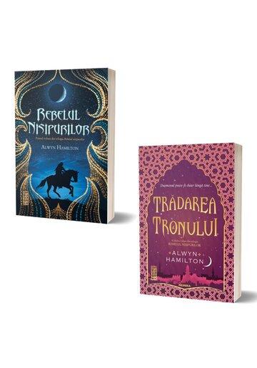 Pachet Trilogia Rebelul Nisipurilor. Set 2 volume