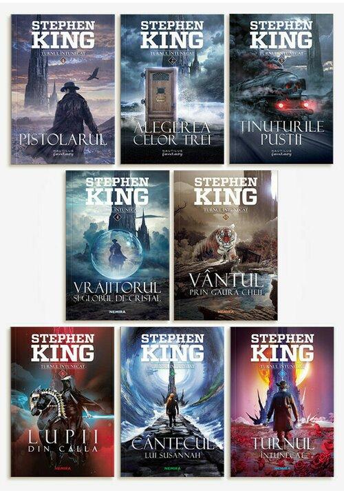 Pachet Turnul Intunecat. Set 8 Volume