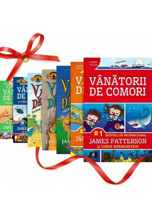 Pachet Vanatorii de comori. Set 7 volume imagine librex.ro 2021