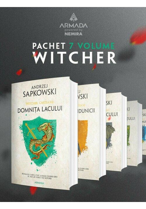 Pachet Witcher. Set 7 Volume imagine librex.ro 2021