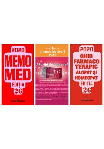 Pachetul Farmacistului: MemoMed 2020 si Agenda Medicala 2019