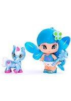PinyPon Zana cu Animalut Albastru