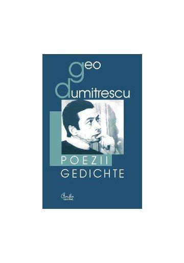 POEZII. GEDICHTE (EDITIE ROMANO-GERMANA)