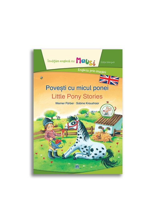 Povesti cu micul ponei - Little Pony Stories - Bilingv imagine librex.ro 2021
